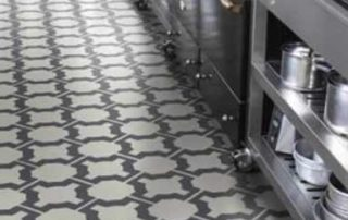 Kitchen Patterned floor